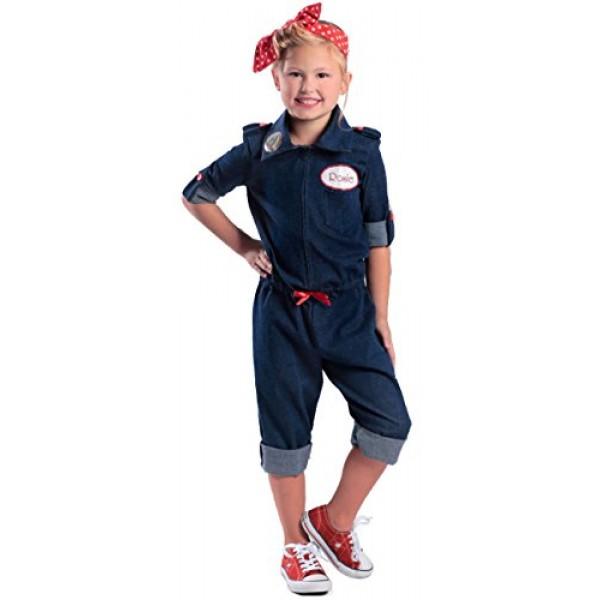 Rosie Kids Costume