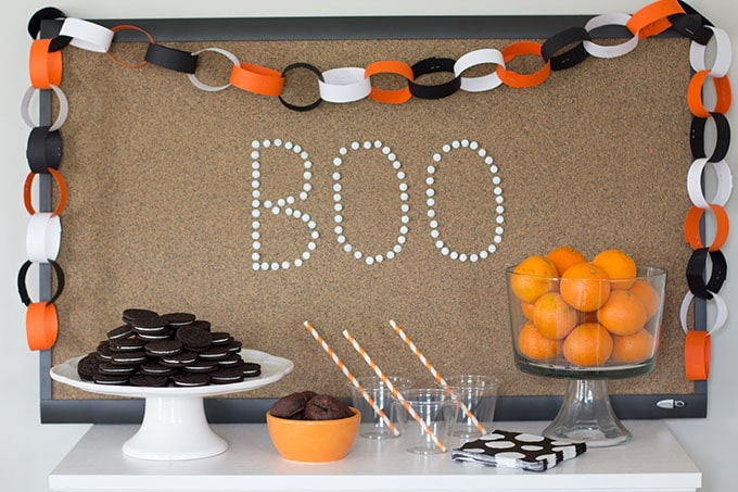 Halloween Party Backdrop