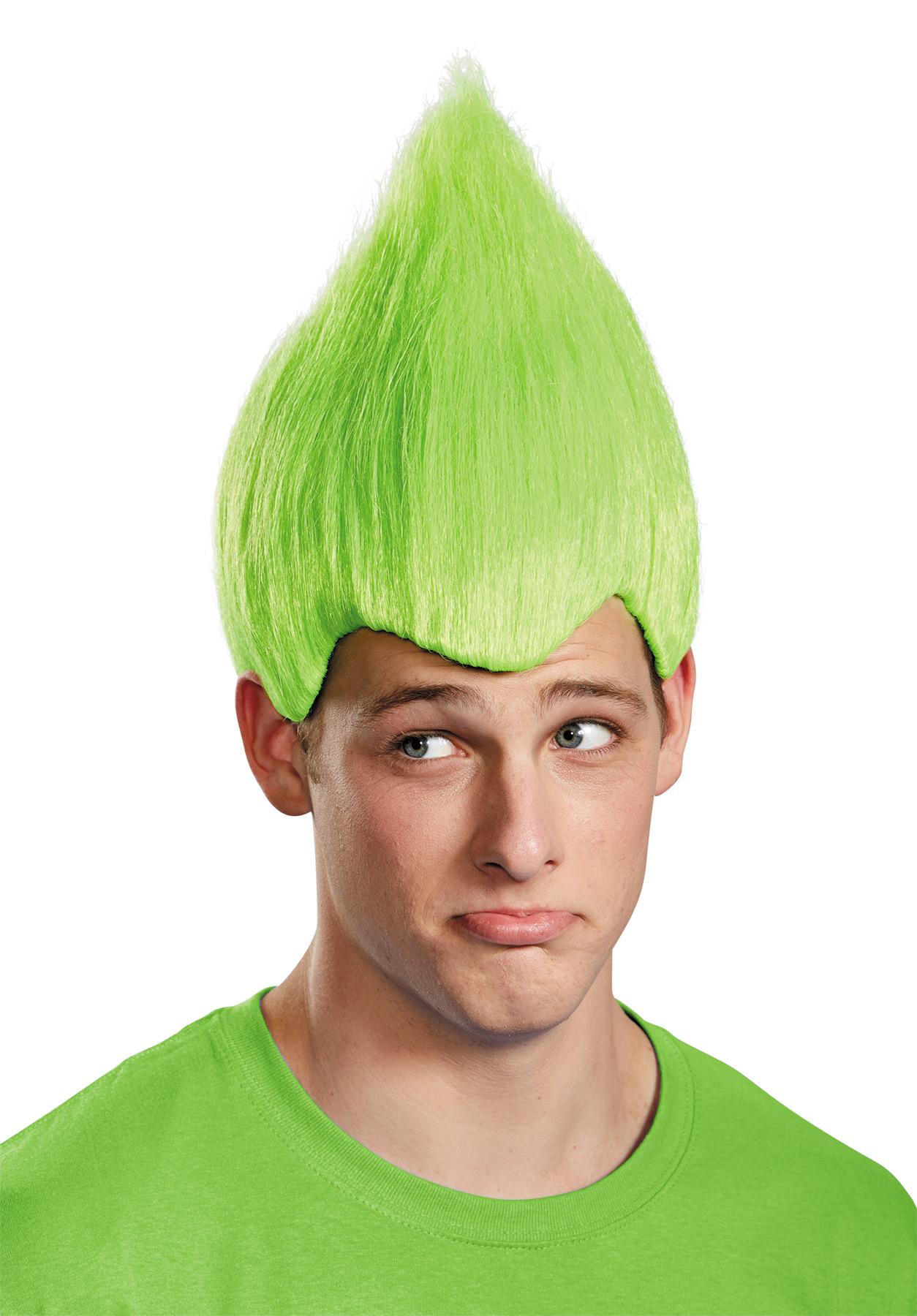 WACKY WIG GREEN ADULT