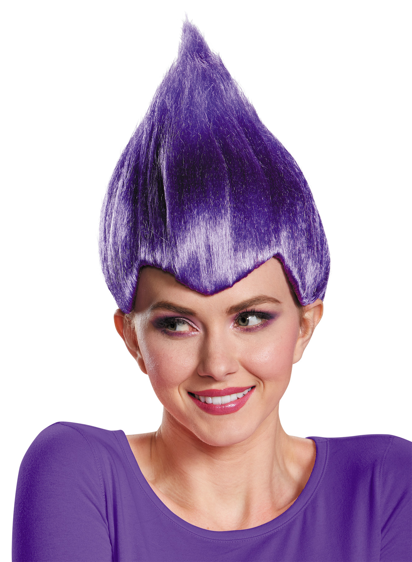 WACKY WIG PURPLE ADULT