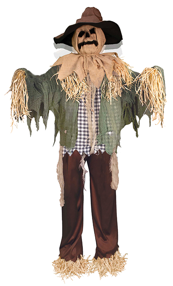 Animated Standing Scarecrow Prop
