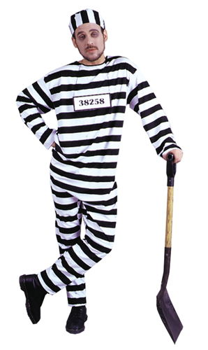 CONVICT COSTUME STD