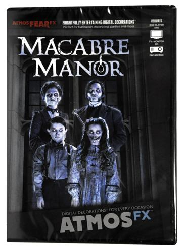 ATMOS FEAR FX MACABRE MANOR DVD