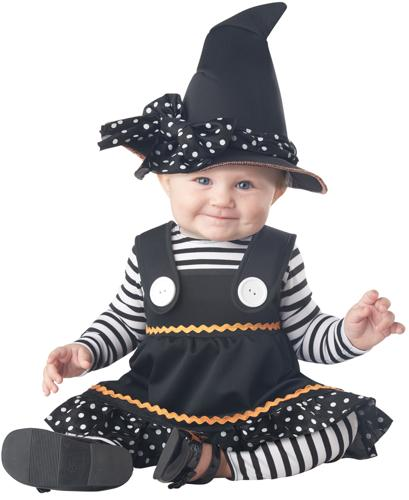CRAFTY LIL WITCH TODDLER 12-18