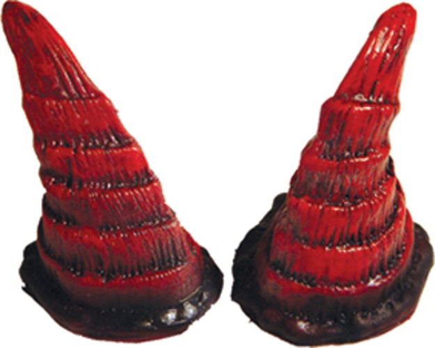 HORNS GOAT RED