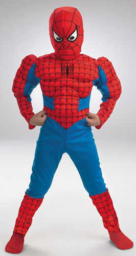 SPIDERMAN DLX MUSCLE 7 TO 8