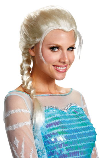 FROZEN ELSA ADULT WIG