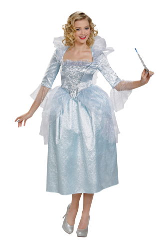 FAIRY GODMOTHER ADULT 8-10 DLX