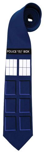 DOCTOR WHO TARDIS NECKTIE
