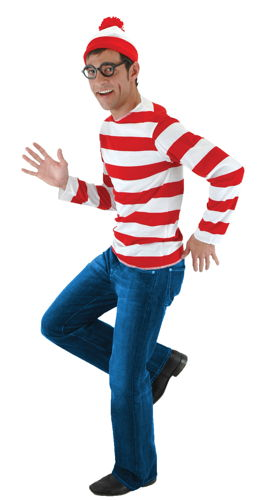 WHERE'S WALDO KIT S/M