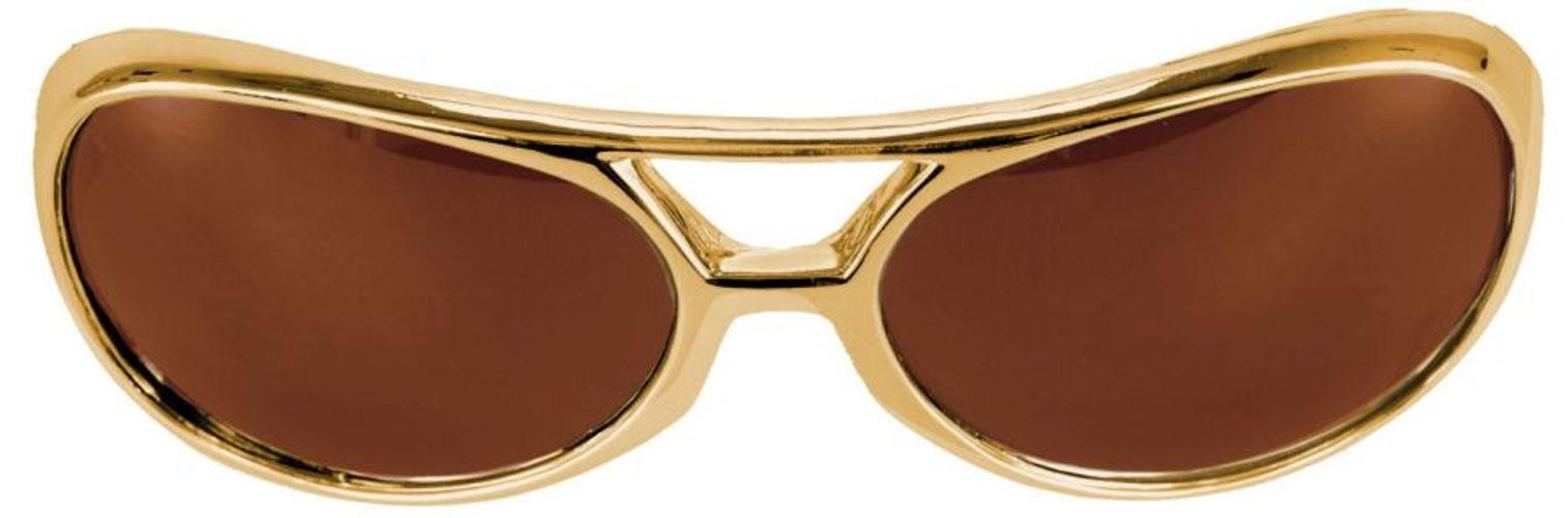GLASSES ROCK&ROLLER GOLD BROWN