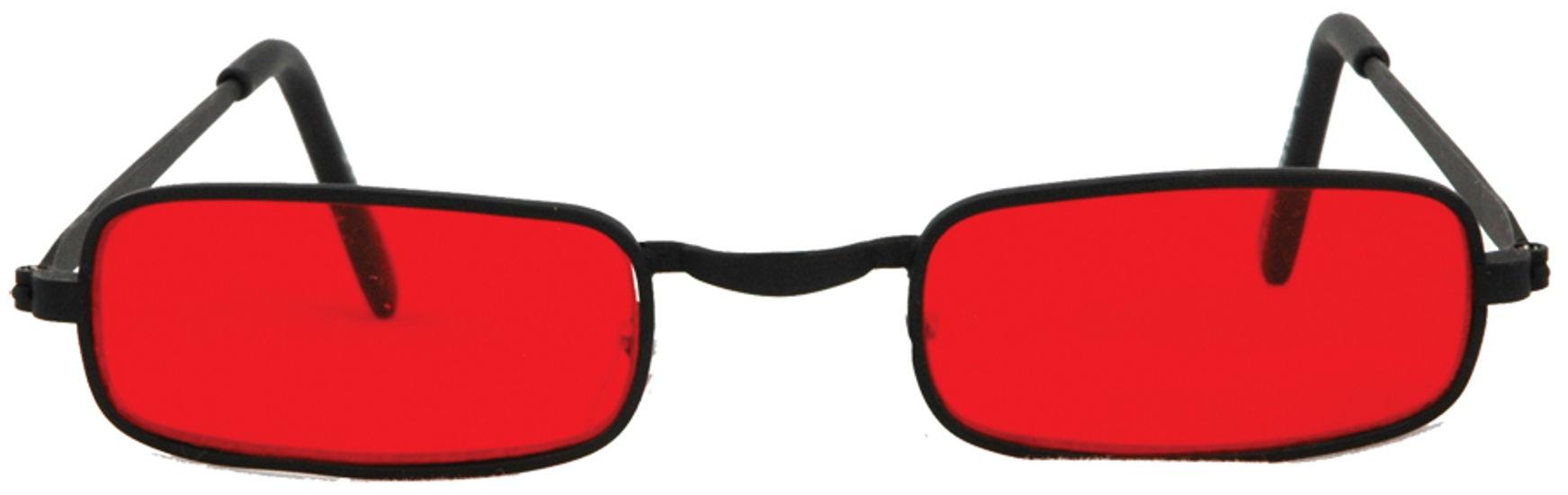 GLASSES VAMPIRE BLK RED