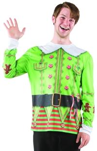 UGLY CHRISTMAS ELF SWEATER XL