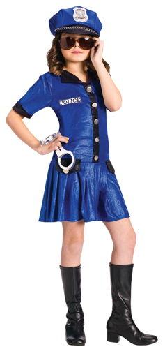 POLICE GIRL CHILD 4-6