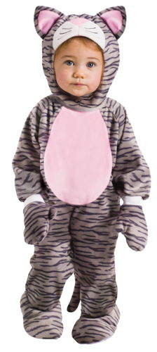 GREY STRIPE KITTEN INF 6M-12M