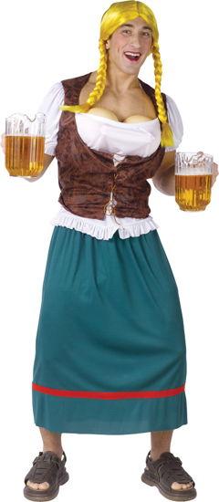 BEER GIRL MALE ADULT STD