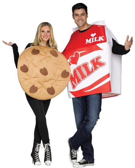 COOKIES & MILK COUPLES COSTUME