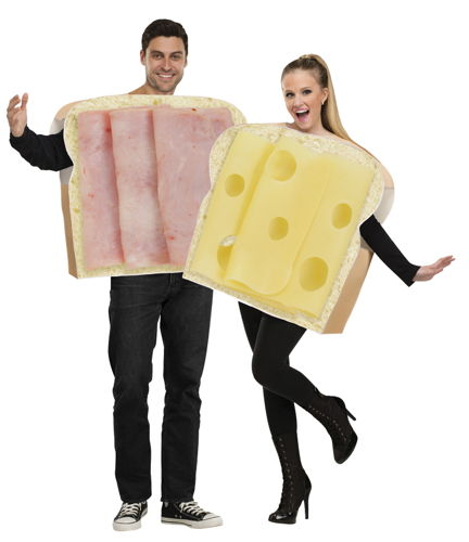HAM AND SWISS ADULT COUPLES COSTUME