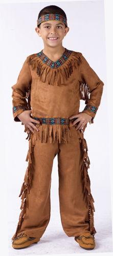AMERICAN INDIAN BOY CHLD LARGE