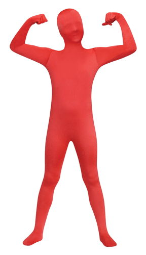 SKIN SUIT RED CHILD 12-14