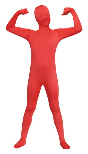 SKIN SUIT RED CHILD 8-10