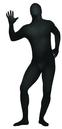 SKIN SUIT BLACK TEEN/AD SM