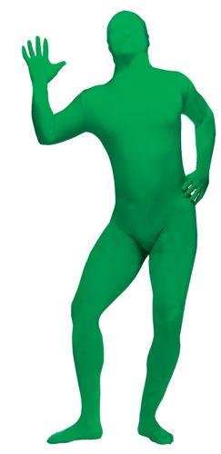 SKIN SUIT GREEN ADULT STD
