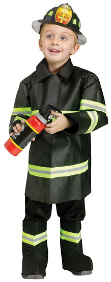 FIRE CHIEF TODDLER LARGE 3T-4T