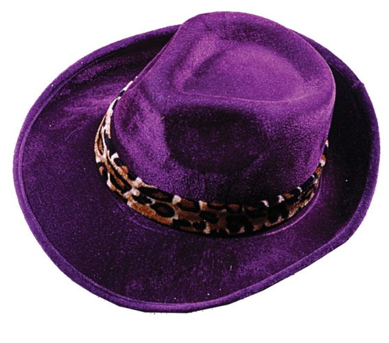 HAT PIMP DARK PURPLE