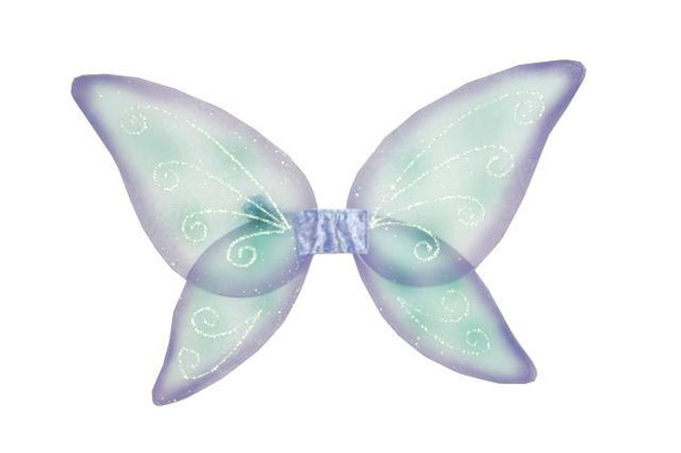 WINGS CHILD FAIRY BLUE GREEN