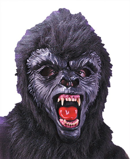 GORILLA DLX MASK WITH TEETH