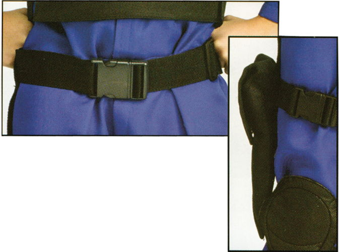 BELT AND HOLSTER SET BLACK