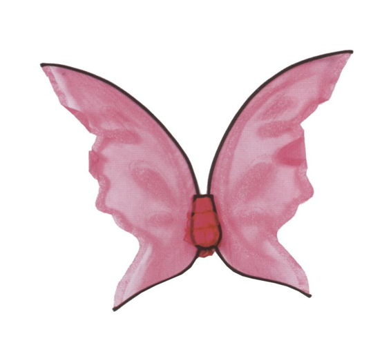 WINGS BUTTERFLY PK HOT COLOR