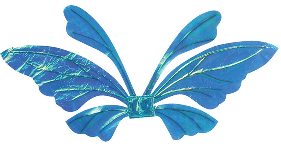 WINGS TAIL OPAL BLUE