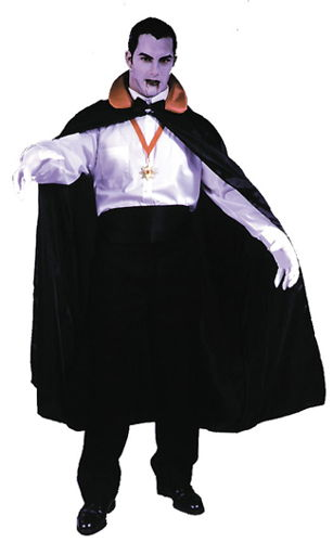 COUNT CAPE 56in BLACK