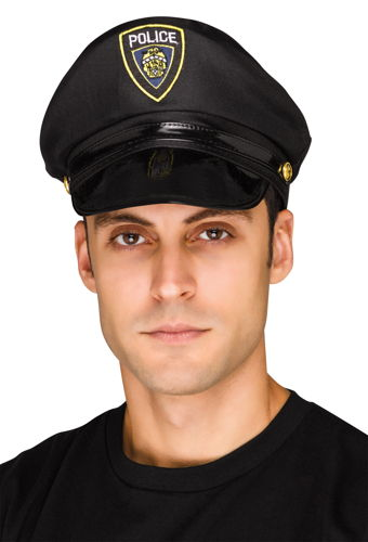 POLICE HAT ADULT