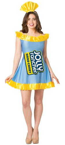JOLLY RANCHR DRESS B RASPBRRY