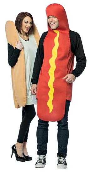 HOT DOG AND BUN ADULT COUPLES