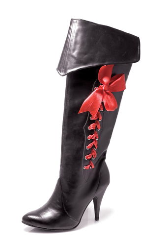 BOOT PIRATE W RIBBONS SIZE 8