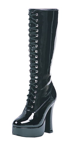BOOT EASY LACE BLK SZ 10