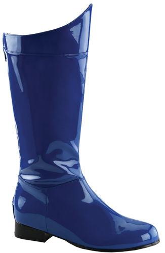 HERO 100 BLUE/PAT SM 8-9