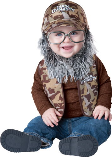 DUCK D BABY UNCLE SI TOD 18-2T