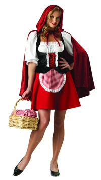 RED RIDING HOOD EXTRA LARGE