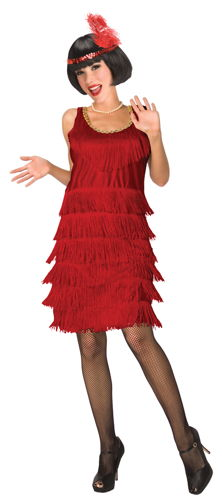 FLAPPER RED ADULT 6-8