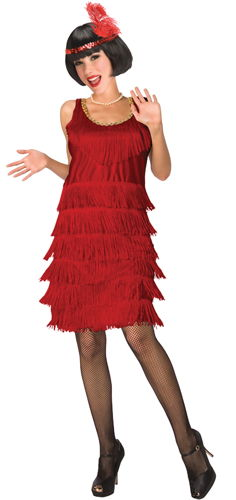 FLAPPER RED ADULT 14-16