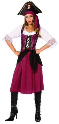 PIRATE WENCH ADULT 6-8