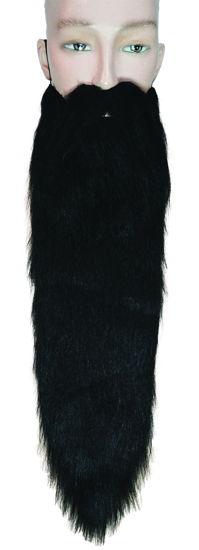 HILLBILLY BEARD LONG BLACK