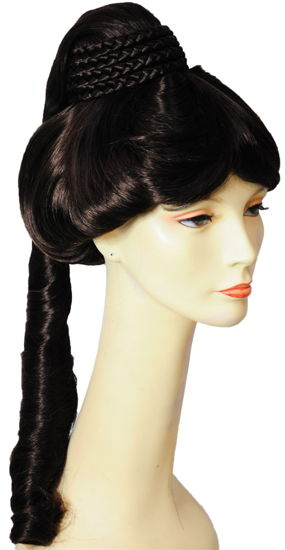 JEANNIE DELUXE WIG M C BROWN 6