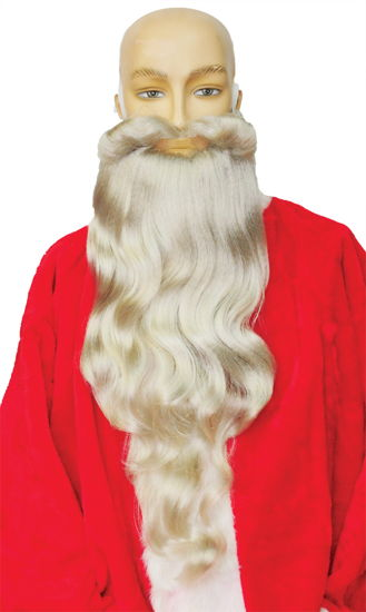 SANTA BEARD LONG 60 WHITE