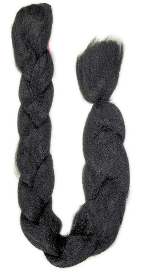 BRAID 50 INCH BLACK